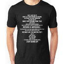 Shia Labeouf The Most Intense Motivational Speech Unisex T-Shirt