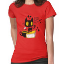 Books and Cats and Tea Women's T-Shirt