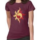 Sunset Shimmer Paintsplatter Women's T-Shirt