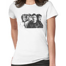 The Many Faces of Nathan Fillion Women's T-Shirt