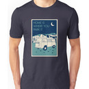 VW Bay Window Bus - Home Is Where You Park It Unisex T-Shirt