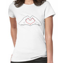 Heart hands Women's T-Shirt