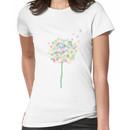 Rainbow Dandelion Women's T-Shirt