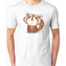 Red panda happy Unisex T-Shirt