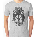 BETTER TO BE A WOLF OF ODIN THAN A LAMB OF GOD (6) Unisex T-Shirt