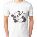 Panda that is relaxing Unisex T-Shirt