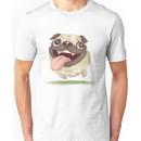 Active pug Unisex T-Shirt