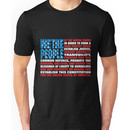 A New Twist on Old Glory Unisex T-Shirt