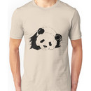 Slumbering Panda Unisex T-Shirt