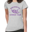 Horizontal Running Team Women's T-Shirt