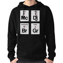 The Four Elements of Hip Hop Hoodie (Pullover)