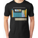 The Periodic Table Of Irrational Nonsense (Dark) Unisex T-Shirt