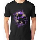 Super Smash Bros. Purple Mario Silhouette Unisex T-Shirt