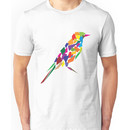 Colorful Abstract Bird Unisex T-Shirt