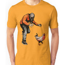 LEROY VS THE EVIL ZOMBIE CHICKEN! Unisex T-Shirt