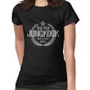 Jungkook - BTS Member Logo Series (White) Women's T-Shirt