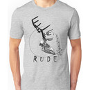 Eat the Rude - clock Unisex T-Shirt