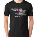 Hedwig and the Angry Inch - Names Unisex T-Shirt