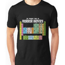 Periodic Table of Horror Movies Unisex T-Shirt