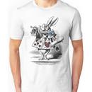 White Rabbit from Alice's Adventures in Wonderland Unisex T-Shirt