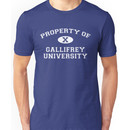 Property of Gallifrey University - 10th Doctor Unisex T-Shirt