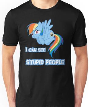 Stupid people Unisex T-Shirt