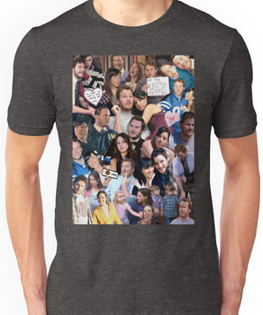 April and Andy - Parks and Recreation Unisex T-Shirt
