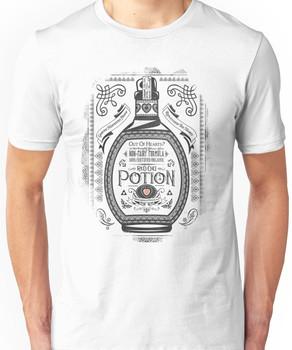Legend of Zelda Red Potion Geek Line Artly Unisex T-Shirt