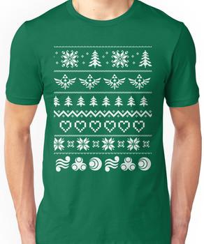 Zelda and the Ugly Christmas Unisex T-Shirt