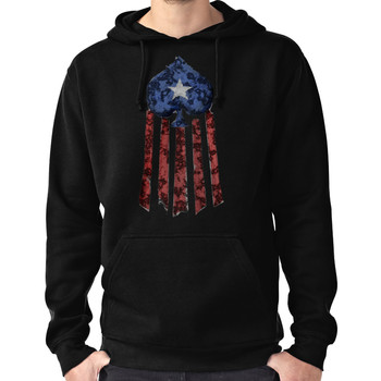 Old World Glory Destroyed Hoodie (Pullover)