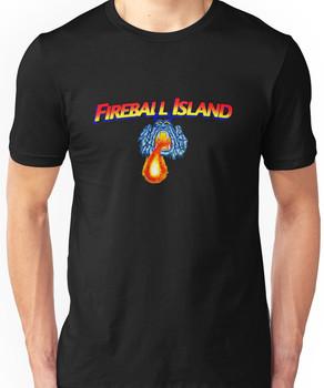 fireball island 80's board game Unisex T-Shirt