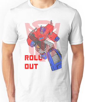 Optimus Prime - Roll Out Unisex T-Shirt