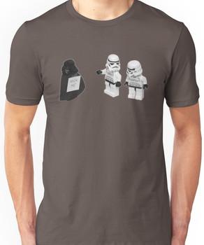 STORMTROOPERS KICK ME STAR WARS   Unisex T-Shirt