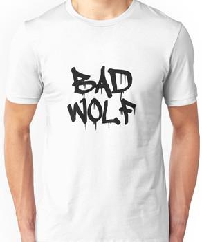 Bad Wolf #1 - Black Unisex T-Shirt