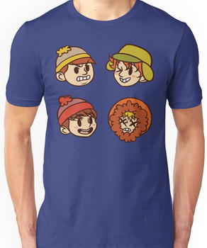 South Park Boys Chibi Heads Unisex T-Shirt