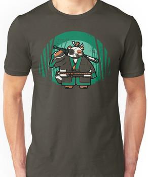 Samurai Panda Unisex T-Shirt