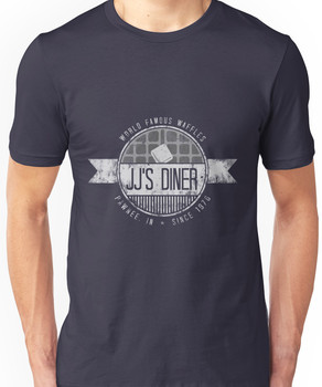 jj's diner - b&w Unisex T-Shirt