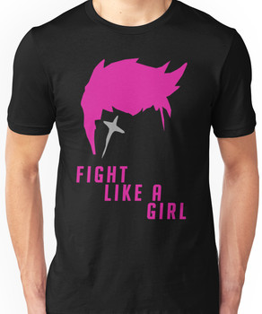 Zarya - Fight Like A Girl Unisex T-Shirt