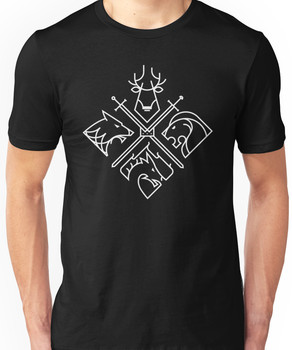 Minimal Thrones Unisex T-Shirt