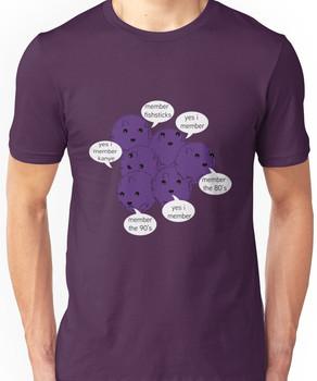 Member Berries Remember/ Purple Unisex T-Shirt