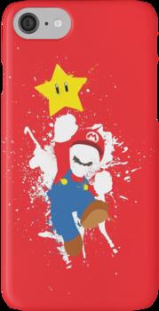 Super Mario Splattery T-Shirt iPhone 7 Cases
