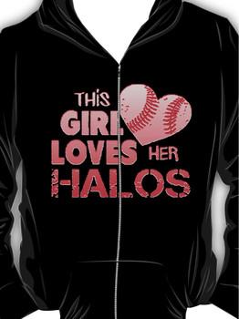 Angels Love Their Halos Hoodie (Zipper)