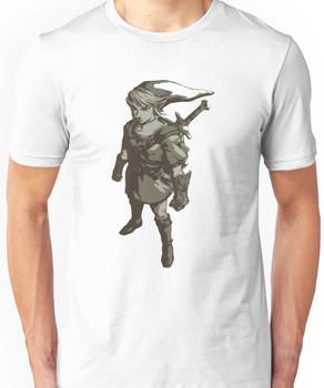 Minimalist Link from The Legend of Zelda Unisex T-Shirt