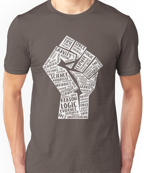 March For Science Fist Unisex T-Shirt