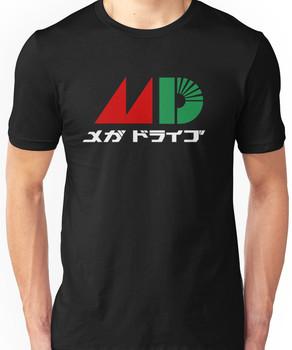 Sega Mega Drive Logo Unisex T-Shirt