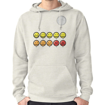 On a scale of 1-10 how would you rate your pain? Hoodie (Pullover)