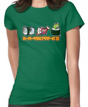 Super Mario Bros Sushi Women's T-Shirt