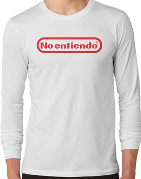 No entiendo means I dont understand Long Sleeve
