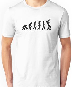 Evolution trumpet Unisex T-Shirt