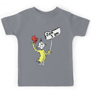 Dr Seuss Sam I Am Kids Clothes
